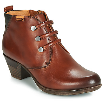 kengät Naiset Nilkkurit Pikolinos ROTTERDAM 902 Brown