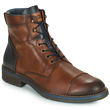 kengät Miehet Bootsit Pikolinos YORK M2M Brown / Laivastonsininen