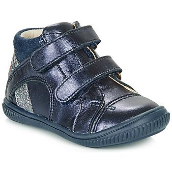 kengät Tytöt Korkeavartiset tennarit GBB ROXANE Blue