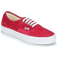 kengät Naiset Matalavartiset tennarit Vans AUTHENTIC Red