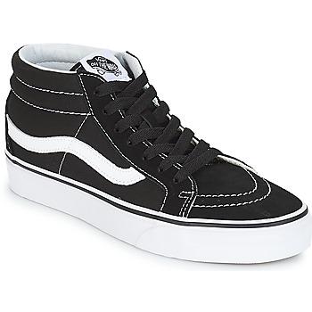 kengät Korkeavartiset tennarit Vans SK8-MID REISSUE Black / White