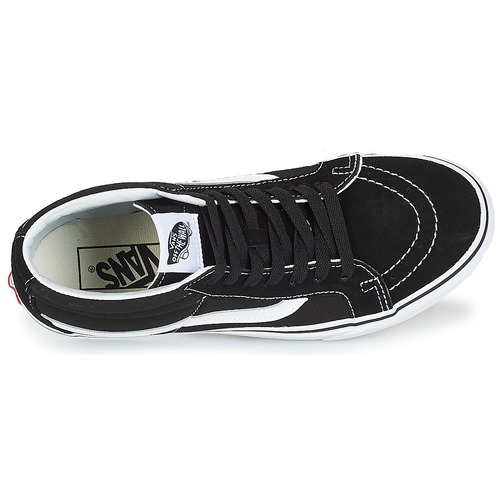 Naisten kengät Vans SK8-MID REISSUE Black / White  kengät Korkeavartiset tennarit 8199