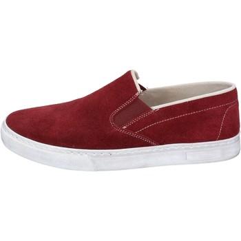 kengät Miehet Tennarit Nyon NYON slip on bordeaux camoscio BZ901 Rosso