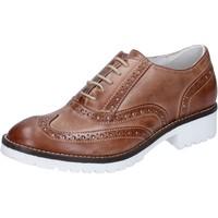 kengät Naiset Herrainkengät Crown classiche marrone pelle BZ932 Marrone