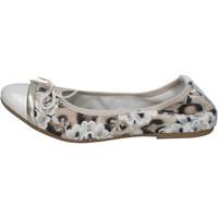 kengät Naiset Balleriinat Crown ballerine beige vernice tessuto BZ939 Beige