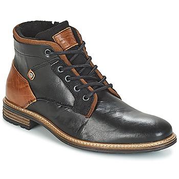kengät Miehet Bootsit Bullboxer NIRINA Musta