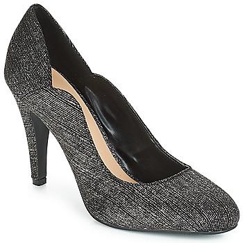 finest selection 83915 93b27 kengät Naiset Korkokengät Moony Mood JANNEE Black   Argenté