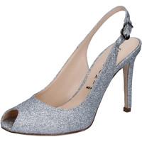 kengät Naiset Sandaalit ja avokkaat Capitini Sandaalit BZ492 Hopea