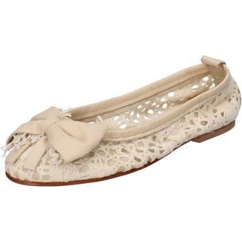kengät Naiset Balleriinat Nu-Eva AE20 Beige