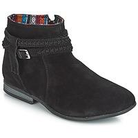kengät Naiset Bootsit Minnetonka DIXON BOOT Black