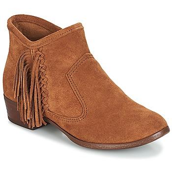 kengät Naiset Nilkkurit Minnetonka BLAKE BOOT Kamelinruskea