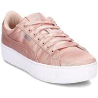 kengät Naiset Derby-kengät & Herrainkengät Puma Vikky Platform EP Vaaleanpunaiset
