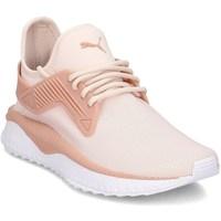 kengät Lapset Derby-kengät & Herrainkengät Puma Tsugi Cage Vaaleanpunaiset