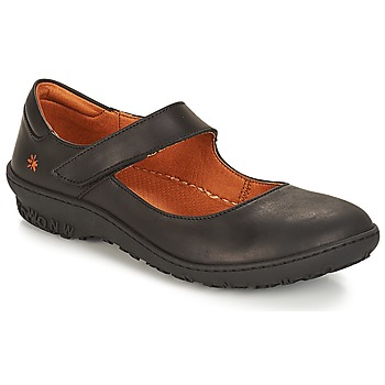 kengät Naiset Balleriinat Art ANTIBES Black