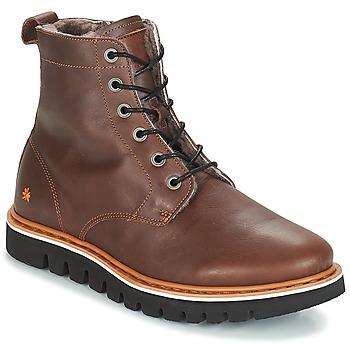 kengät Miehet Bootsit Art TORONTO Brown