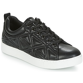 kengät Naiset Matalavartiset tennarit Emporio Armani DELIA Black