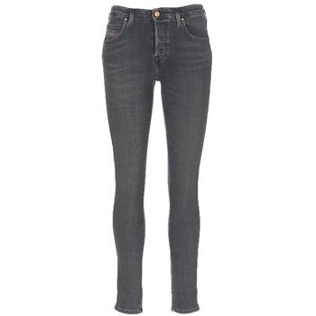 vaatteet Naiset Slim-farkut Diesel BABHILA Grey