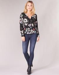 vaatteet Naiset Skinny-farkut Diesel SLANDY Blue
