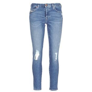 vaatteet Naiset Slim-farkut Diesel BABHILA Blue / 084wp