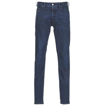 vaatteet Miehet Slim-farkut Diesel TEPPHAR Blue