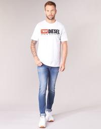 vaatteet Miehet Skinny-farkut Diesel SLEENKER Blue