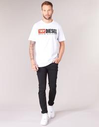 vaatteet Miehet Skinny-farkut Diesel SLEENKER Black