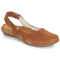 kengät Naiset Sandaalit ja avokkaat El Naturalista WAKATAUA Brown