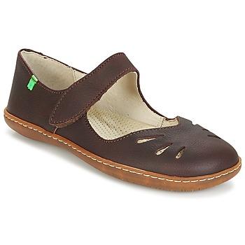 kengät Naiset Balleriinat El Naturalista EL VIAJERO Brown