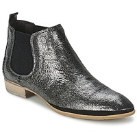 kengät Naiset Bootsit Un Matin d'Ete TOBAGO Black / Silver