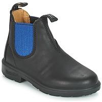 kengät Lapset Bootsit Blundstone KIDS BOOT Black / Blue