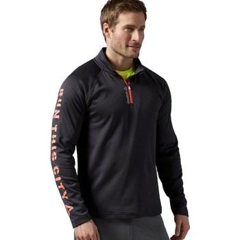 vaatteet Miehet Svetari Reebok Sport Running Essentials Grafiitin väriset