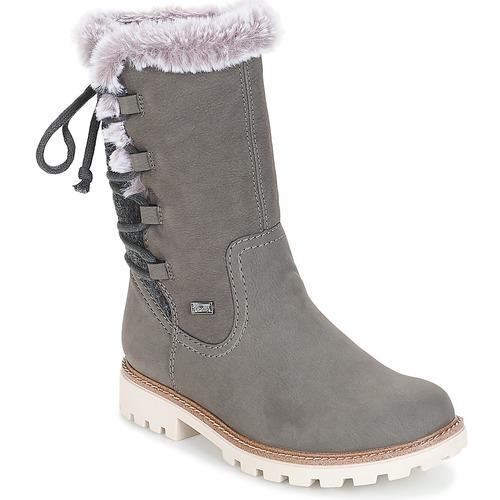 kengät Naiset Saappaat Rieker  Grey