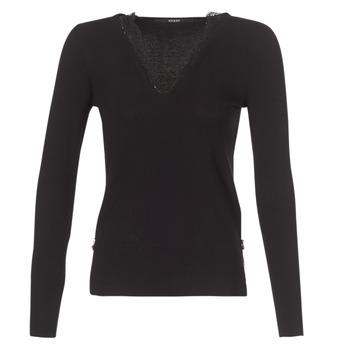 vaatteet Naiset Neulepusero Guess BETH Black