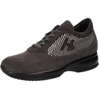 kengät Naiset Matalavartiset tennarit Hornet Botticelli sneakers grigio camoscio strass AE480 Grigio