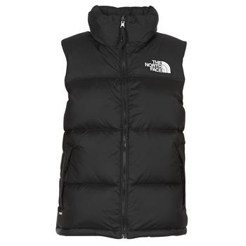 vaatteet Naiset Toppatakki The North Face NUPTSE VEST Black