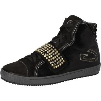 kengät Naiset Korkeavartiset tennarit Guardiani AE827 Musta