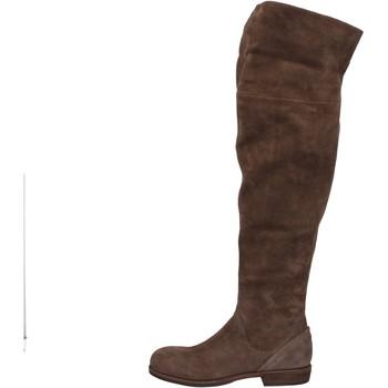 kengät Naiset Ylipolvensaappaat Vic stivali marrone camoscio AE871 Marrone