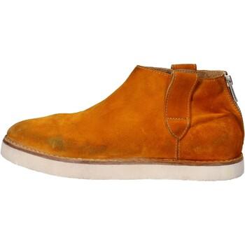 kengät Naiset Bootsit Moma stivaletti giallo camoscio AE995 Giallo
