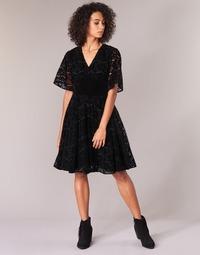 vaatteet Naiset Lyhyt mekko Derhy DAMOISELLE Black