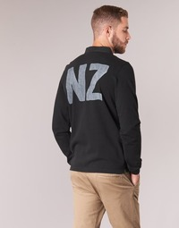 vaatteet Miehet Pitkähihainen poolopaita Serge Blanco POLO NEW ZEALAND Black