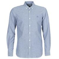 vaatteet Miehet Pitkähihainen paitapusero Serge Blanco 15 DOS Blue