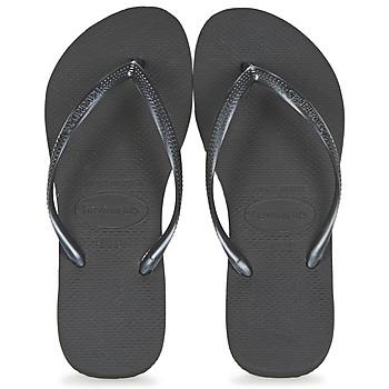 kengät Naiset Varvassandaalit Havaianas SLIM Black