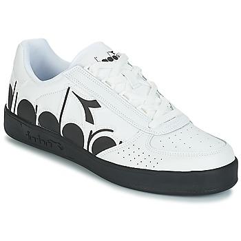 kengät Miehet Matalavartiset tennarit Diadora B.ELITE BOLDER White / Black