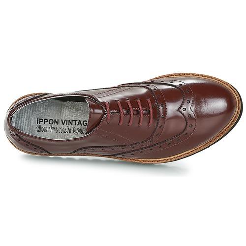 Ippon Vintage Andy Thick Bordeaux - Ilmainen Toimitus- Kengät Derby-kengät Naiset 95