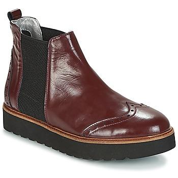 kengät Naiset Bootsit Ippon Vintage HUNTER THICK Viininpunainen