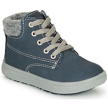 kengät Pojat Bootsit Primigi BARTH 19 Laivastonsininen / Grey