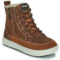kengät Pojat Bootsit Primigi PCA 24130 Brown