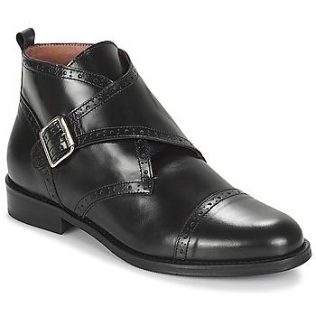kengät Naiset Bootsit Jonak DRISANA Musta