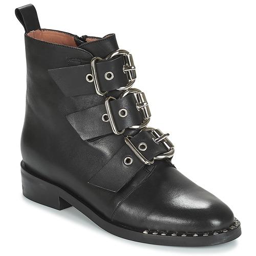 kengät Naiset Bootsit Jonak DIRCE Black