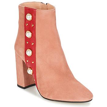 kengät Naiset Nilkkurit Jonak CHERRY Vaaleanpunainen